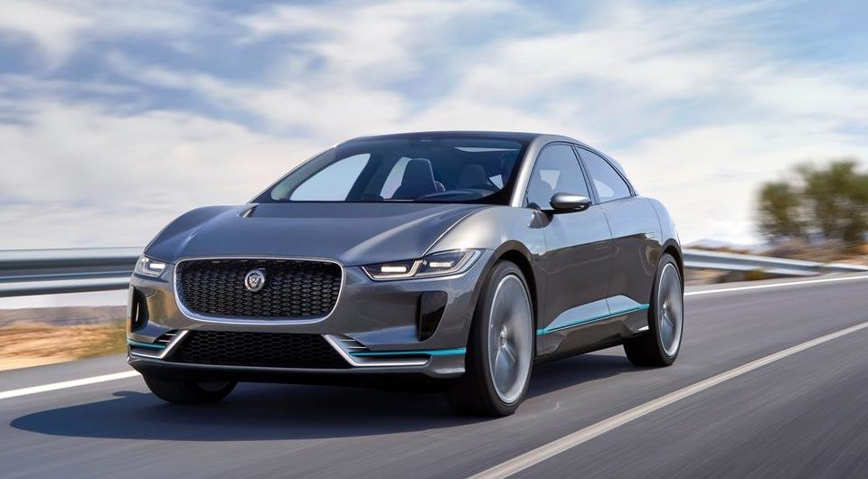 Ein Tesla-Killer von Jaguar: I-Pace Concept überrascht