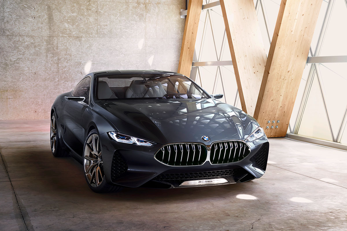 BMW Concept 8er Coupé - Front