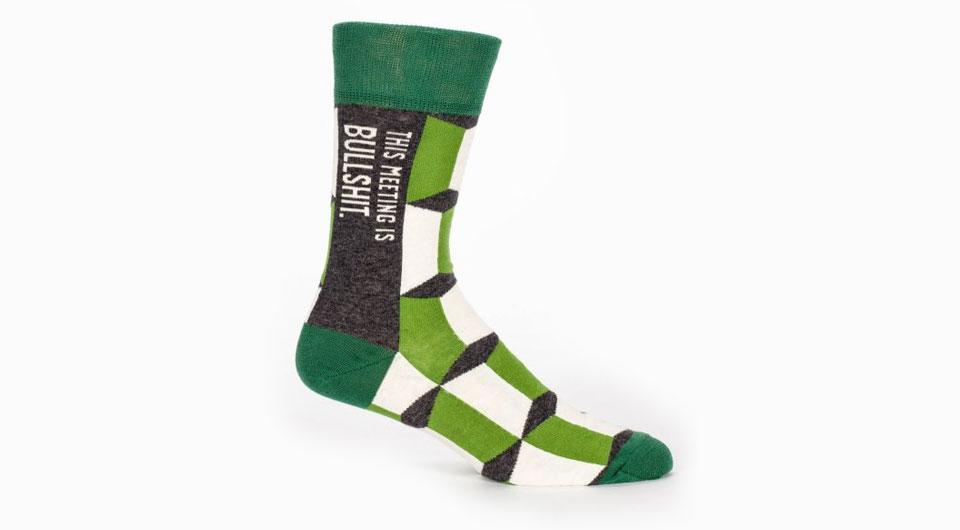 Socken als Kommunikationsmittel im Business-Alltag