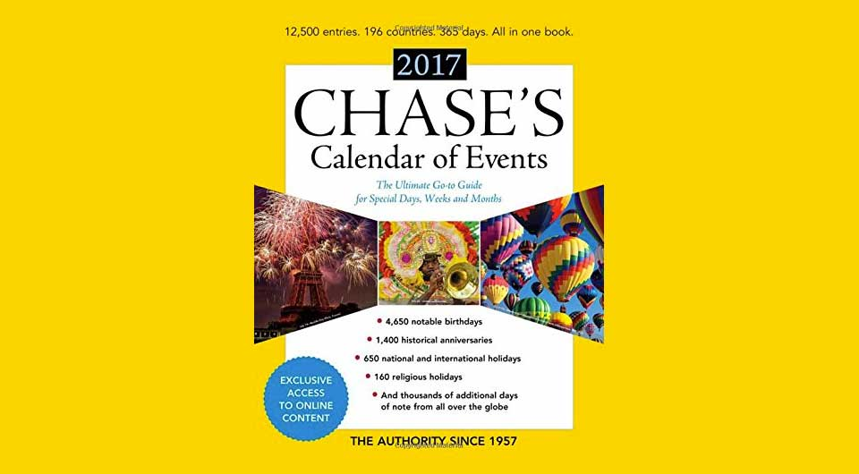 Das Hilfe-Buch für alle Community Manager: Chase's Calendar of Events