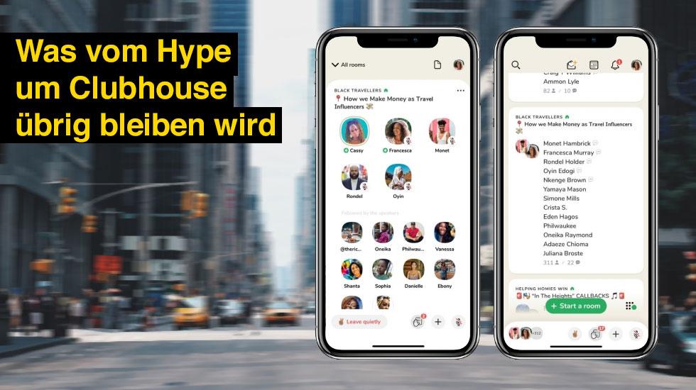 Clubhouse: Was vom Hype um die Audio-App übrig bleibt