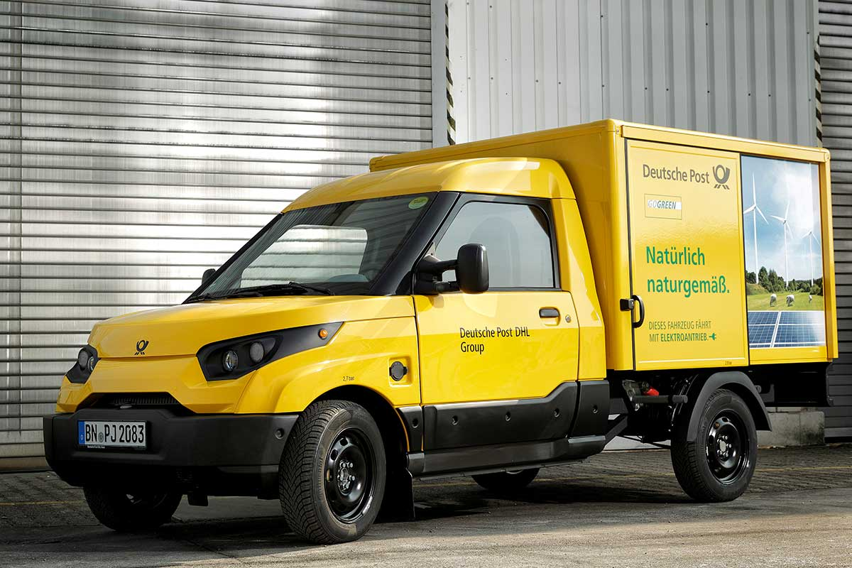Deutsche Post baut elektrischen StreetScooter in Serie