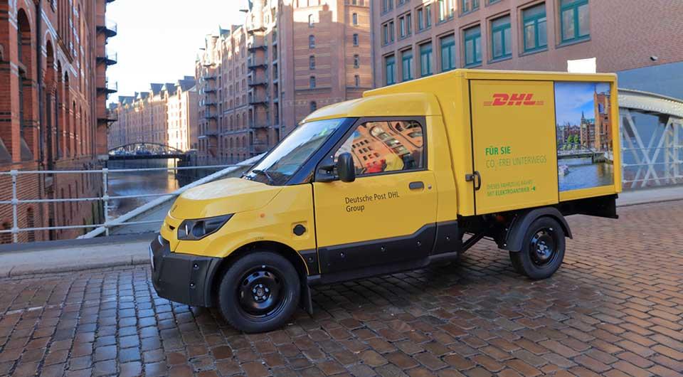 Die Deutsche Post baut jetzt Elektroautos