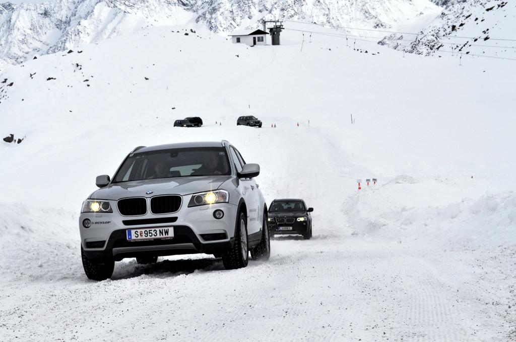 BMW Driving Experience - mit dem BMW X3 im Schnee