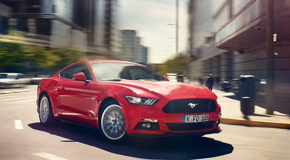 Der Ford Mustang. Unbrav.