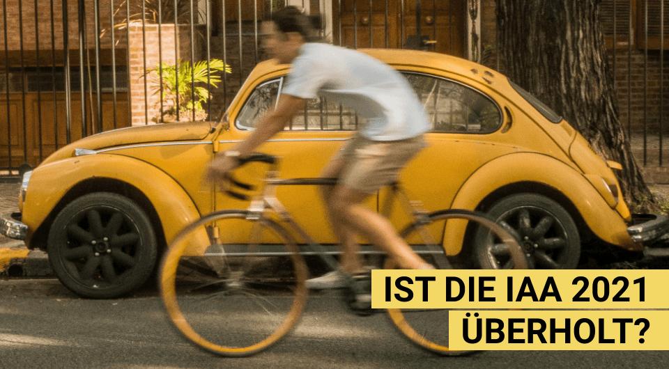 IAA 2021: Ausstellung ohne Auto – und Zukunft