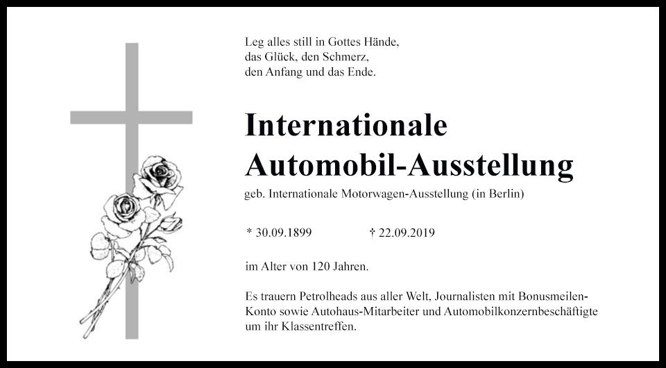 Das Sterben der IAA Frankfurt – warum Automobilmessen ausgedient haben