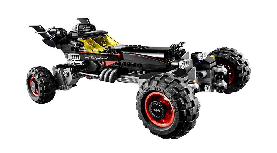 The LEGO Batman Movie - Das Batmobil