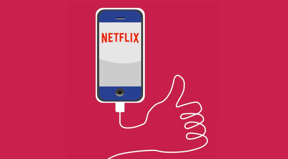 Netflix: Mobile Schnittversionen von Serien und Daumen hoch, statt 5 Sterne