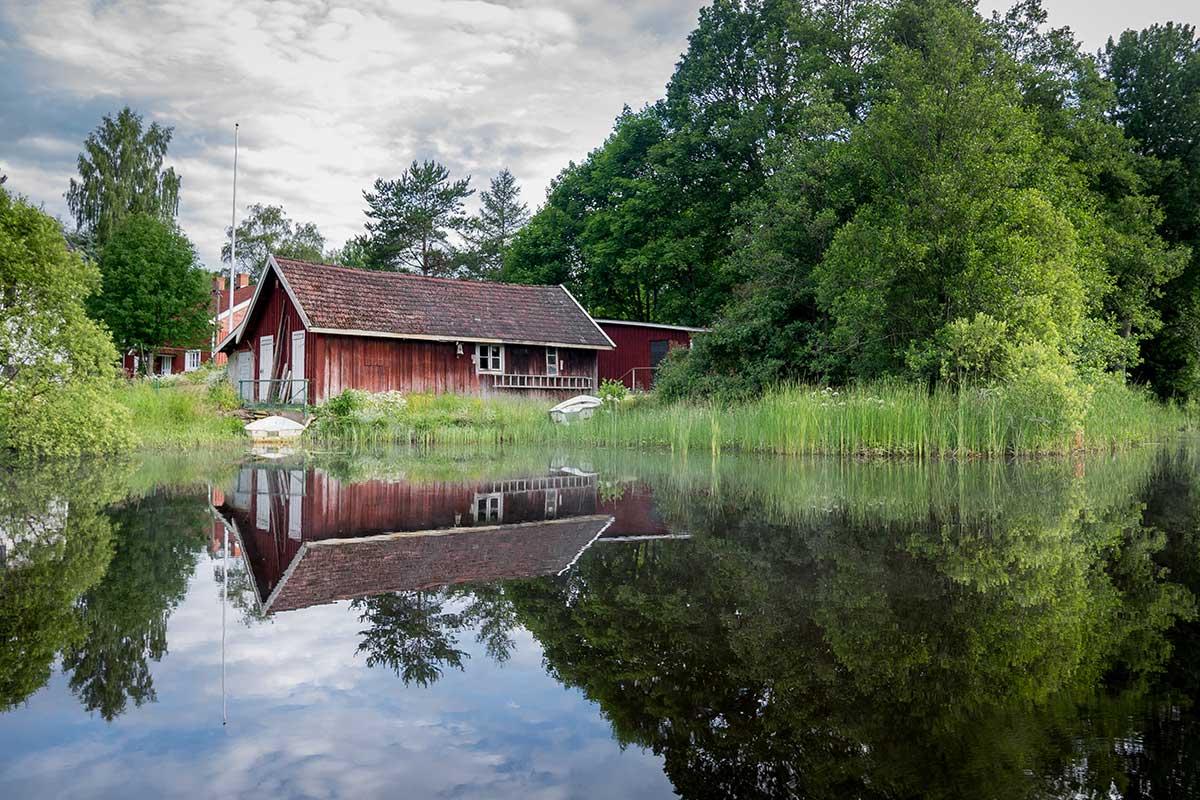 Schweden - Idylle mit rotem Haus