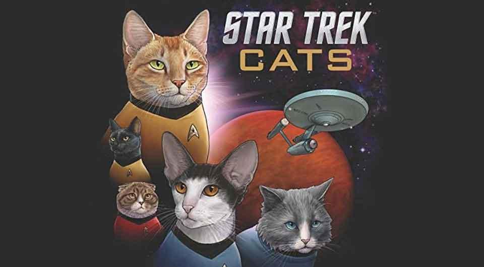 Wo nie zuvor eine Katze gewesen ist: Star Trek Cats