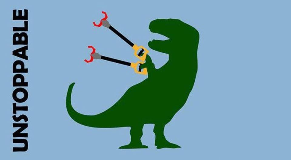 Warum hat der Tyrannosaurus Rex eigentlich so kurze Arme?