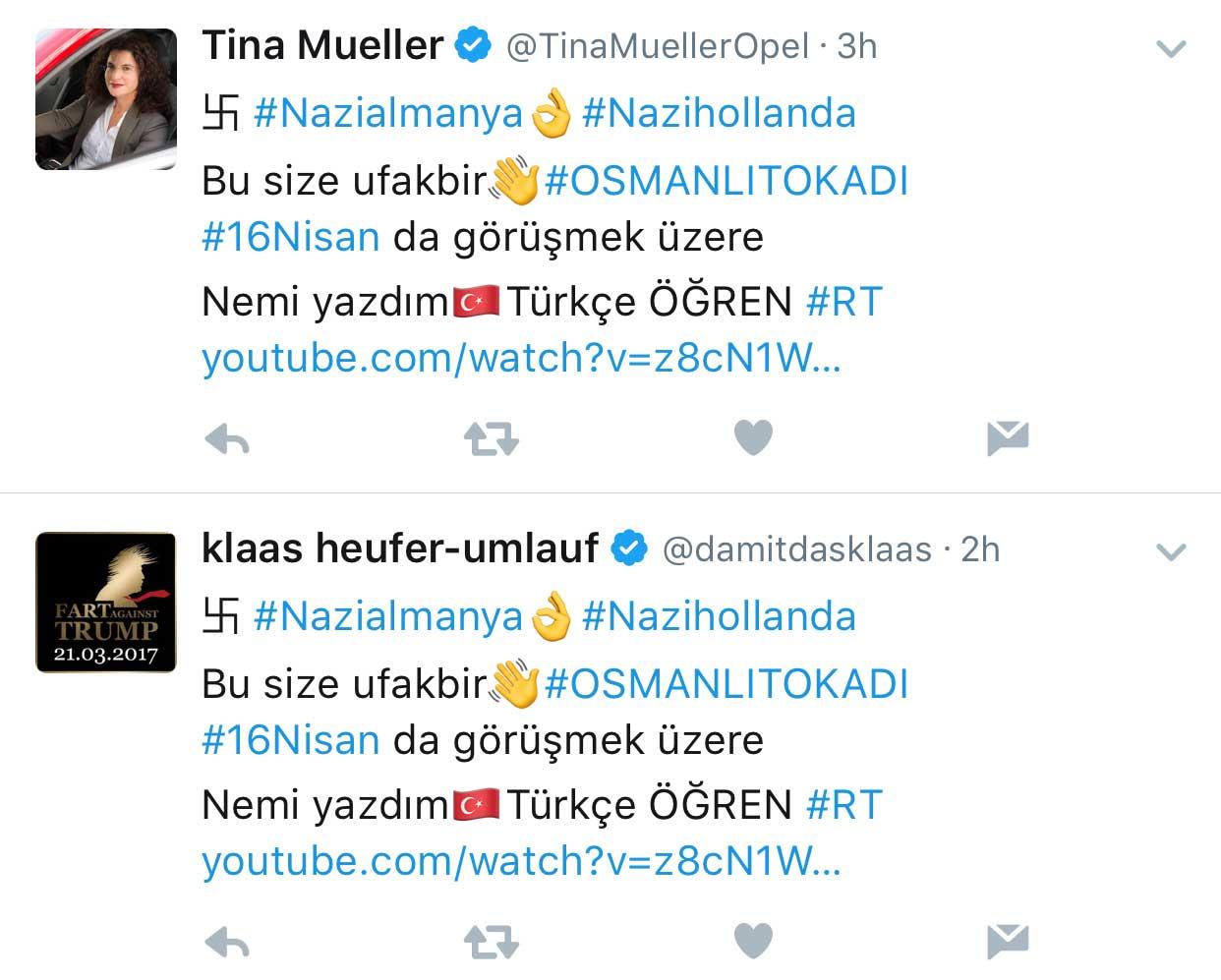 Twitter mit türkischer Spam-Welle